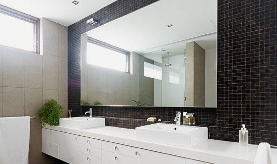 Bathroom 4 - Mirrored Splashbacks
