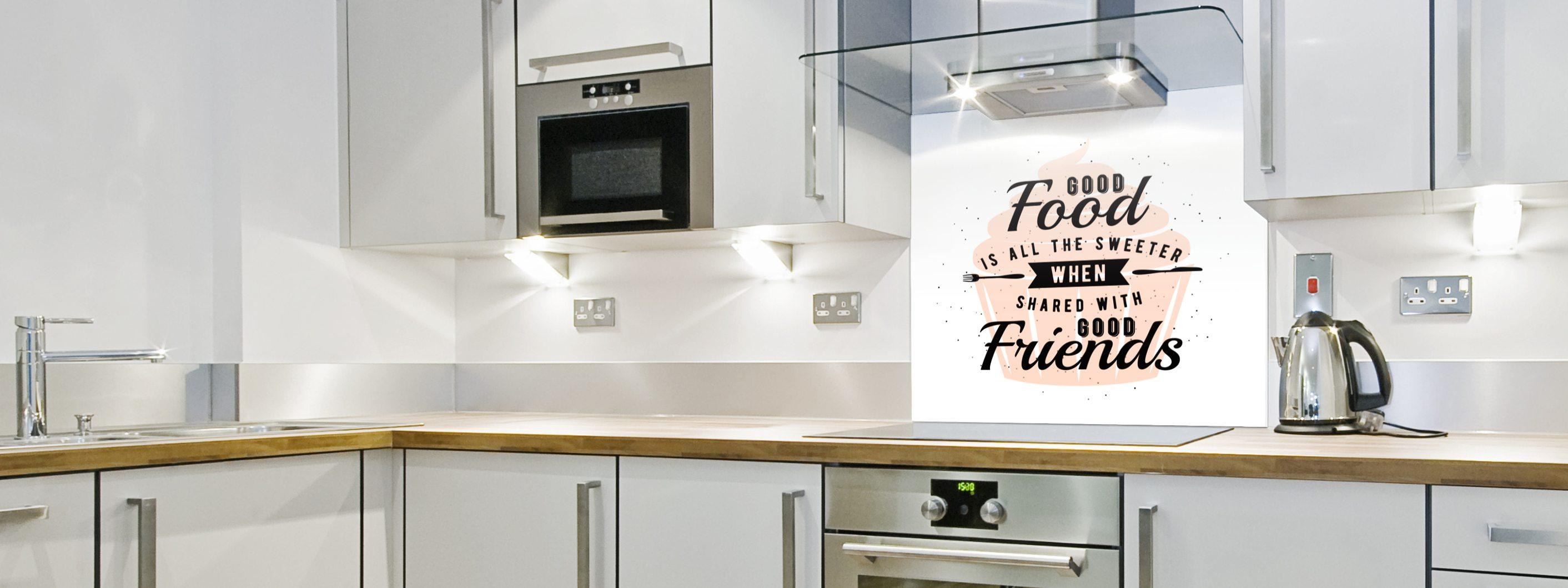 Good Food - Printed Glass Splashbacks