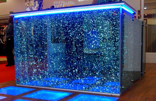 Crackle Glass Splashbacks