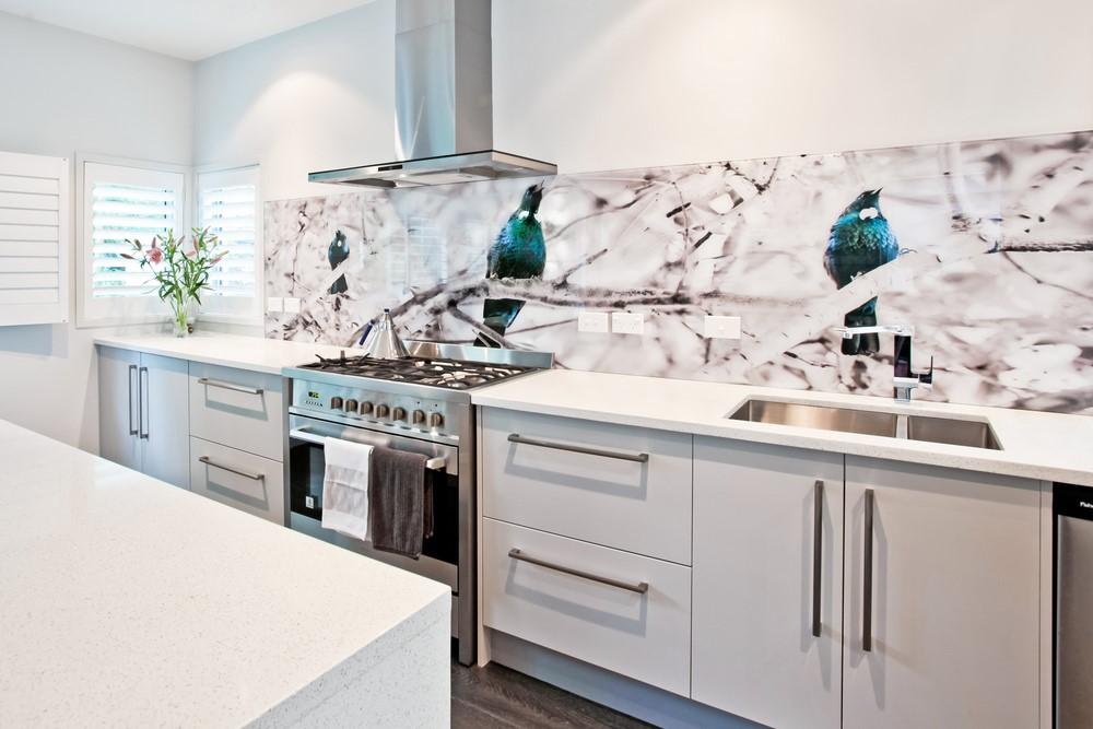 Coloured Glass Splashbacks For Kitchens
