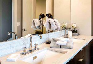 Bathroom Mirror Splashback
