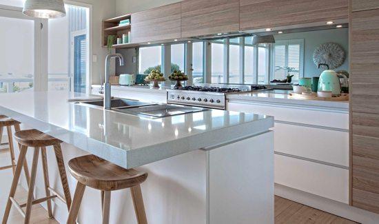 Kitchen 03 - Mirrored Splashbacks