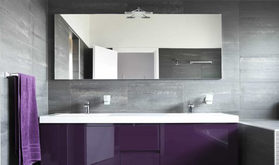 Bathroom 3 - Mirrored Splashbacks