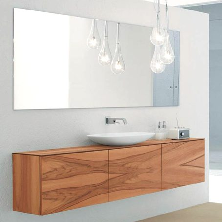 Bathroom Mirror Glass Splashback