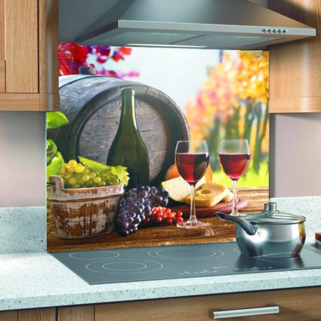 Printed Kitchen Glass Splashbacks