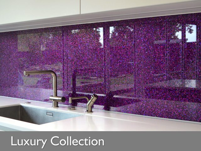 Luxury Collection - Textured Glass Splashbacks