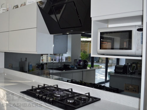 Grey - Heat Resistant - Mirror Splashbacks