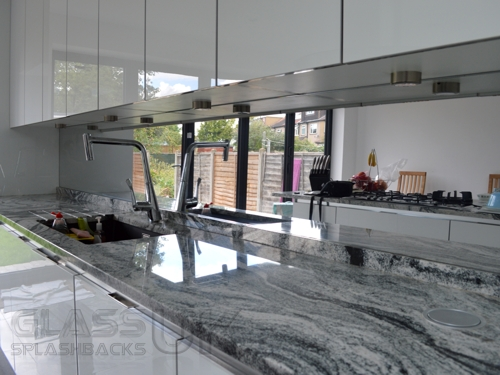 Plain - Heat Resistant - Mirror Splashbacks