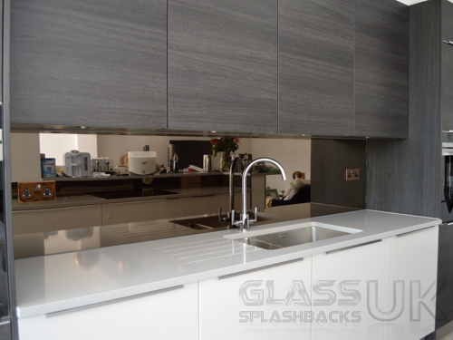 Bronze - Heat Resistant - Mirror Splashbacks