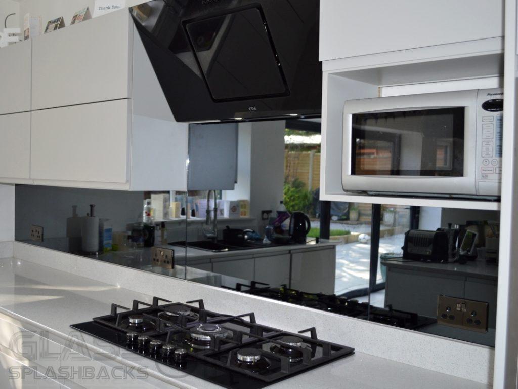 Grey - Heat Resistant - Mirror Splashbacks
