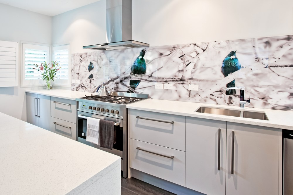 Lucy G Design - Printed Glass Kitchen Splashback