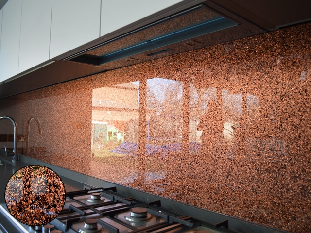 Luxury Collection - Textured Copper Granite