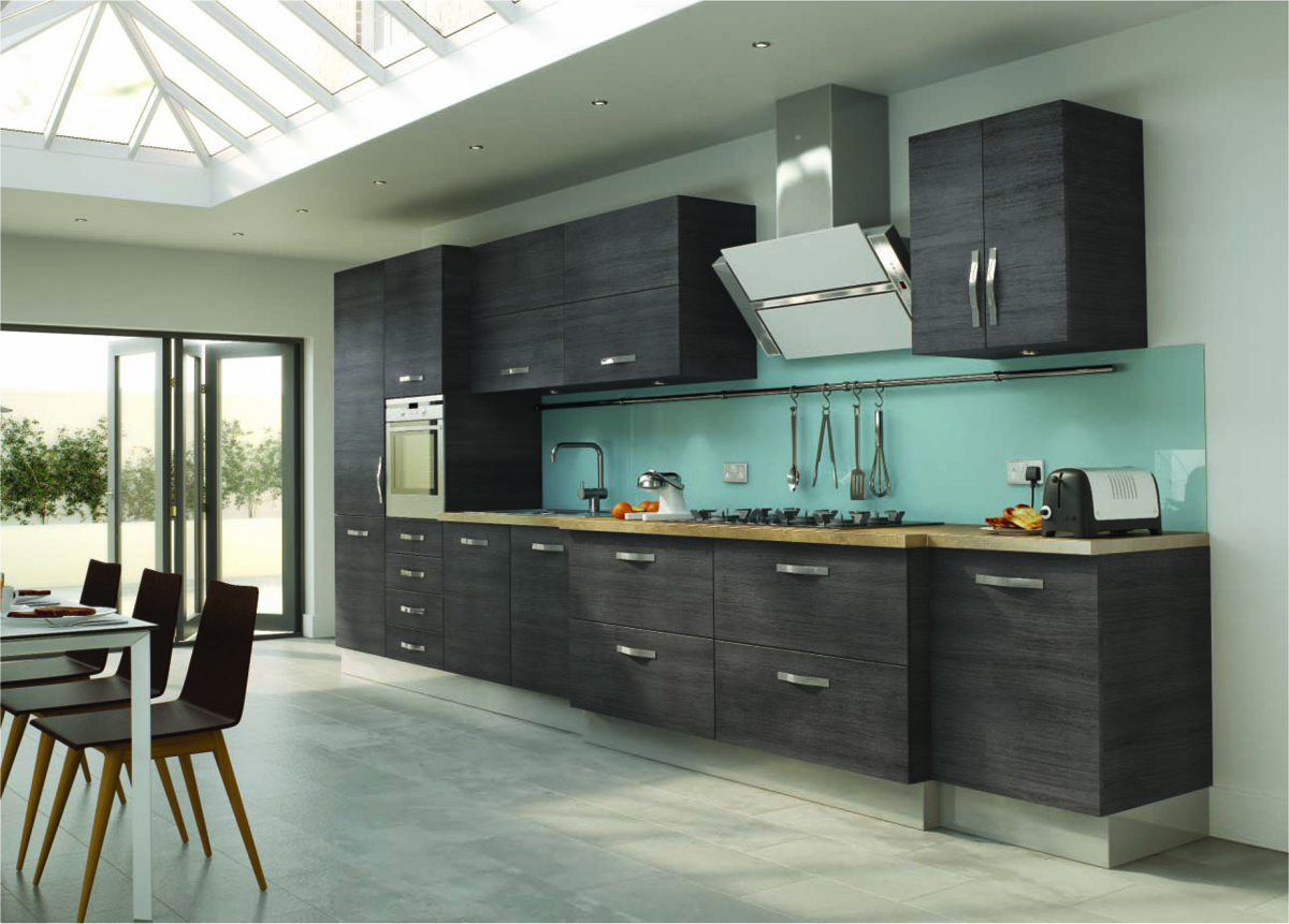 Modern Kitchen with Splashback