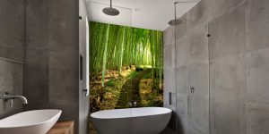 Wall Cladding - Printed Shower Wall